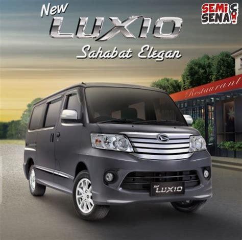 Review Daihatsu Luxio by Harga Daihatsu Luxio Review Spesifikasi Gambar Juli