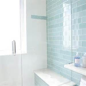 subway tile bathroom floor ideas blue cottage bathroom with blue subway shower tiles cottage bathroom