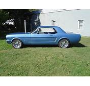 64 MustangI Want One My Dad Had It Was Navy Blue