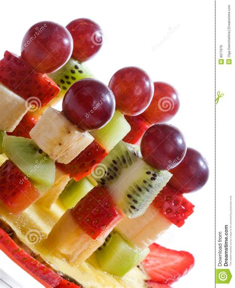 canapes fruit fruit canape royalty free stock images image 8077979