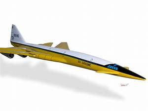 Boeing SST Wood Desktop Airplane Model | eBay