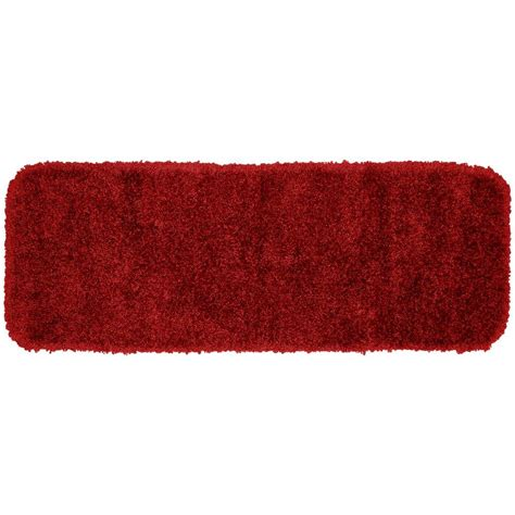 garland rug serendipity chili pepper red      washable bathroom accent rug ser