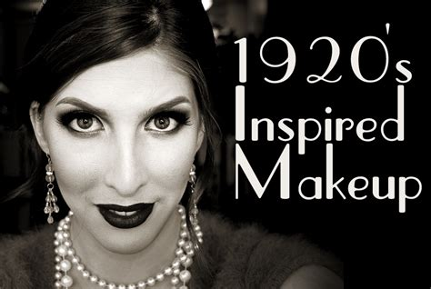 Wearable 1920's Inspired Makeup Tutorial