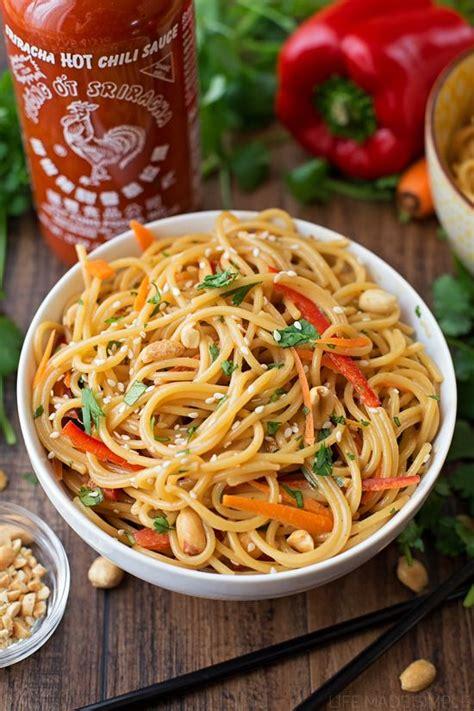 thai noodle recipe 20 minute spicy thai noodle bowls recipe thai noodles noodle bowls and noodle