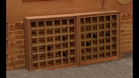 How To Build A Wine Cabinet by How To Build A Wine Rack