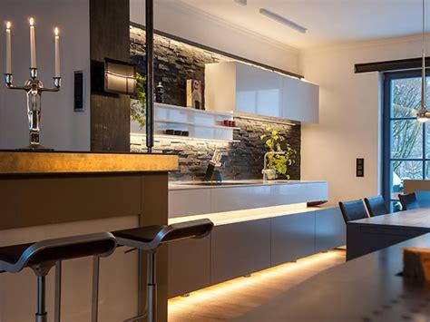 Steintapete In Der Küche by Lichtgestaltung Und Beleuchtung Ideen Und Informationen