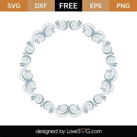 4.5 x 6.5 x 1. Free Monogram Frame SVG Cut File | Lovesvg.com