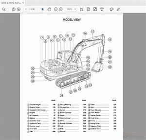 Caterpillar 320 Track-type Excavator Parts Manual