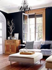 Deco Bois Et Blanc : le blanc et le noir subliment le bois dans la d co floriane lemari ~ Melissatoandfro.com Idées de Décoration
