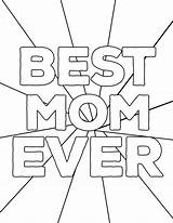 Coloring Mom Printable Mother Ever Mothers Sheets Happy Paper Grandma Papertraildesign Printing Popular sketch template