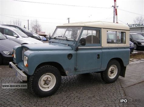 land rover series 3 off road 1983 land rover series iii hardtop car photo and specs