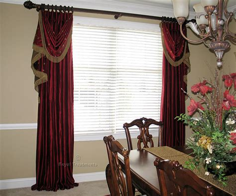 draperies curtains roman shades royal treatments
