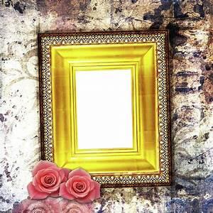 Rose Photo Frame Wallpaper   www.pixshark.com - Images ...