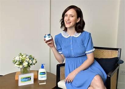Rachel Brosnahan Photoshoot Cetaphil Consultant Spokesperson Skincare