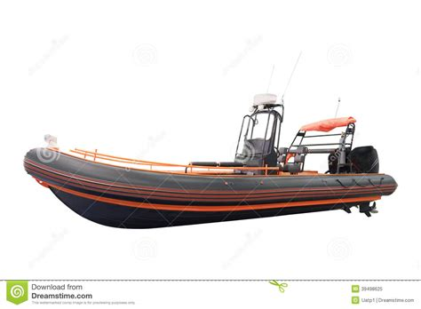 Extreme Fishing Inflatable Boat by An Inflatable Boat Stock Photo Image 39498625