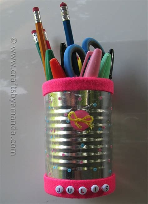 recycled project ideas making school supplies