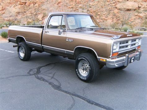 1989 Dodge Ram For Sale by Dodge Other Standard Cab 1989 Dk Brown