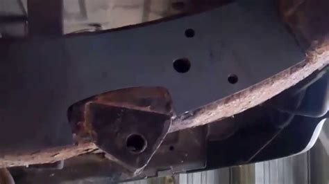land rover discovery  chassis repair  pre cut