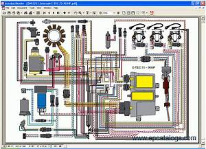 Evinrude Johnson Service Manuals Spare Parts Catalog Download