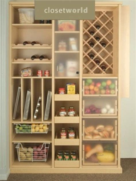 Freestanding Pantry Closet Clever Kitchen Pantry Ideas To Improve Your Kitchen Free