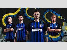 Camisas da Inter de Milão 20172018 Nike Mantos do