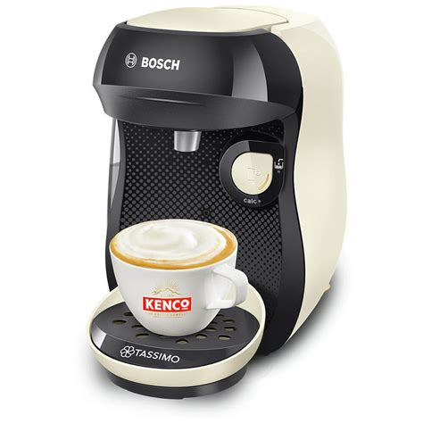 You'll receive email and feed alerts when new items arrive. Tassimo by Bosch Happy Pod Coffee Machine - Cream CFM202010 - €29.50