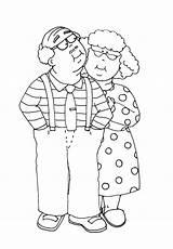 Stamps Digi Grammy Digital Stamp Grandparents Coloring Couple Dearie Pages Dolls Kisses Cartoon Yurls Anniversary Freedeariedollsdigistamps Kleurplaten Paper Impressions Printable sketch template