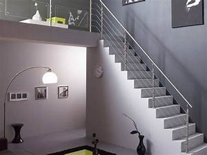 Garde Corps Exterieur Leroy Merlin : escalier contemporain en b ton cir leroy merlin un ~ Dailycaller-alerts.com Idées de Décoration