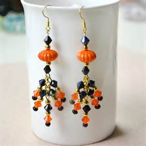 decoupage earrings beaded earrings family crafts