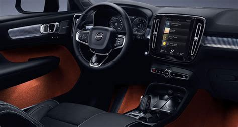 volvo xc40 interior 2019 volvo xc40 interior efficient family car