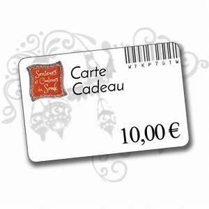 Cadeau 5 Euros : carte cadeau 10 euros offrir personnalisable ~ Teatrodelosmanantiales.com Idées de Décoration