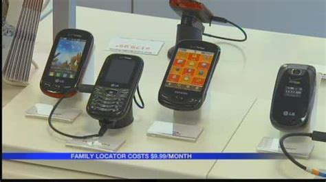 Cell phone app can track your children