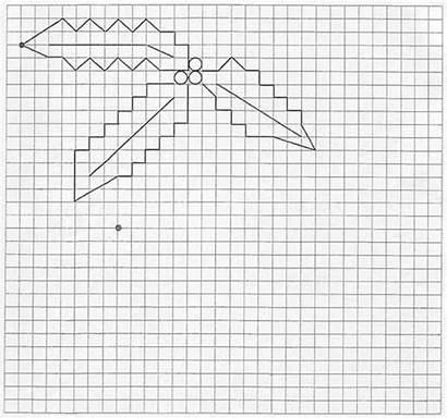 Holly Drawing Drawings Draw Pattern Hellokids Shoe