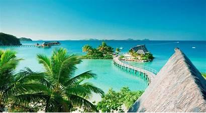 Fiji Wallpapers Resort Backgrounds Likuliku Island Islands