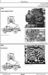 John Deere F4365 Dry Nutrient Applicator Diagnostic