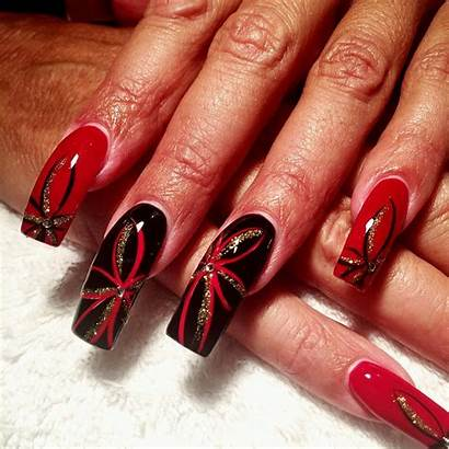 Designs Nails Gold Glitter Nail Artificial