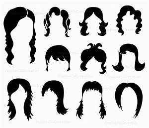 Hair Wig Clipart - Clipart Suggest