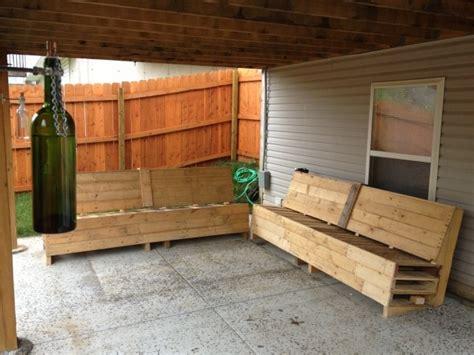 canape exterieur en palette meuble en palette 81 idées diy pour votre espace maison