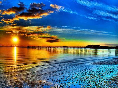 Beautiful Beach Sunset Wallpaper The Best Wallpaper And