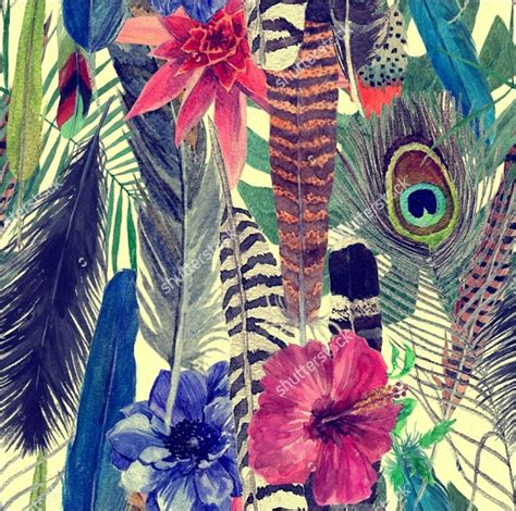 feather patterns  psd ai vector eps format