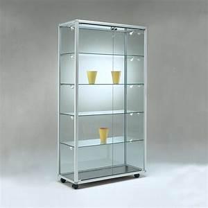 Vitrine En Verre Pour Collection : vitrine verre ~ Teatrodelosmanantiales.com Idées de Décoration