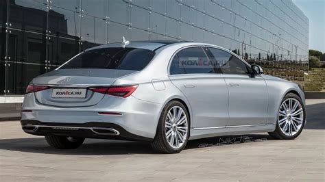This redesigned flagship sedan again pushes boundaries of comfort, convenience, and innovation. 2021 Mercedes-Benz S-Class Accurately Previewed By New CGIs   Carscoops