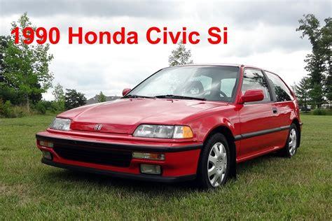 old renault brand new 1990 honda civic si youtube