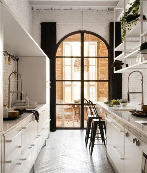 cuisine style industriel loft cuisine industrielle l 39 élégance brute en 82 photos