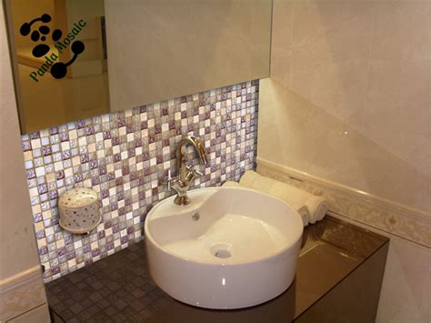 mosaic tile ideas for bathroom mb sms08 decorative bathroom wall mosaic tile glass