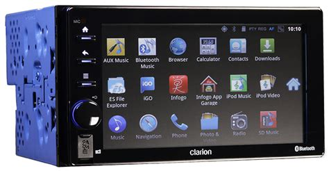 android unit clarion android ivi unit includes wifi hotspot