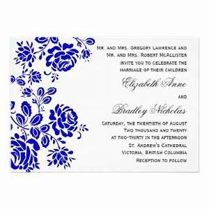 29 images of royal wedding invitation border template With wedding invitation royal blue border
