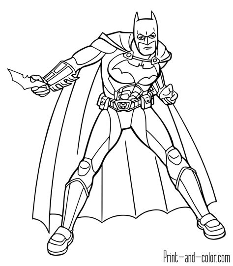 batman coloring pages print  colorcom