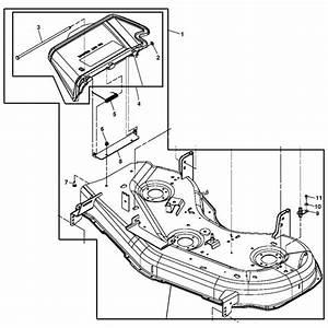 John Deere 48-inch Mower Deck Housing