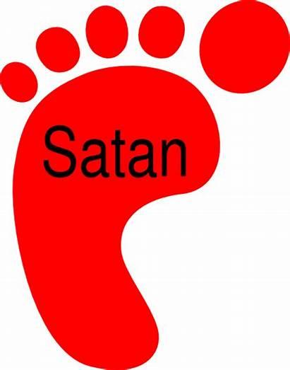 Satan Clipart Feet Under Clip Cliparts Foot